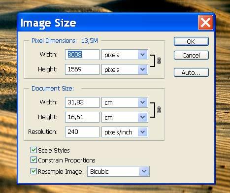 размеры фотографий: